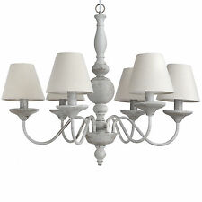 Chandelier With Shades - Add a Touch of Elegance to Your Home.