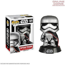 STAR WARS - CAPTAIN PHASMA EPISODE 7 - FUNKO POP VINYL BOBBLE HEAD FIGURE