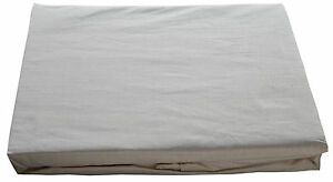 King Bed Fitted Sheet Natural Brown Colour Organic Cotton Luxury Percale