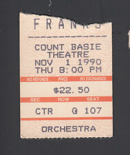 Michael Franks Vintage 1990 Concert small Ticket Stub Count Basie Theatre