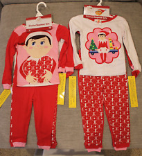 The Elf on the Shelf Christmas Tradition 2 Cotton Sleepwear Sets Brand New 2T