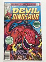 Devil Dinosaur 1, Marvel 1978, 1st Appearance, Moon Boy, Newsstand