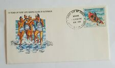 75 Years Surf Australia # First Day Issue Cover Stamp 1981 Life Saving
