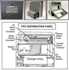 PPC-75 POWERMAX 3 STAGE 75 AMP AC/DC DISTRIBUTION PANEL W/ CONVERTER & CHARGER