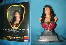Batman vs Superman  WONDER WOMAN Mini Bust Multi Charger Petron Exclusive