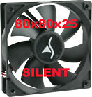 Lüfter Sharkoon System Fan Silent 80 Mm schwarz