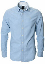 G-Star Men's Cotton Long Sleeve Regular Collar Casual Shirts & Tops