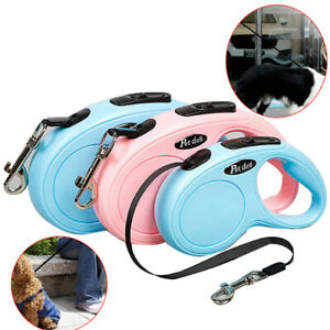 Dog Leash Retractable Walking Collar Automatic Traction Rope Small PetS Ho