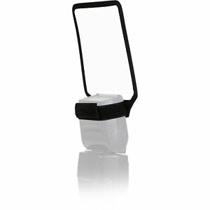 """Opteka BC-10 Universal 2-Sided 7.5x4"""" Bounce Card for Canon Nikon Sony Flashes"""