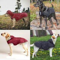 Dog Coat Waterproof Jacket Raincoat Reflective Hooded Coat Small Medium Large