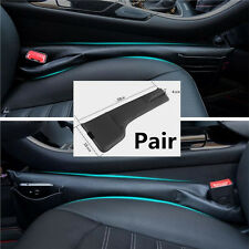 2pc Left&Right Car Console Storage Bag Anti-drop Phone Ticket Card Catch Catcher