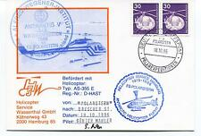 Polarstern Helicopter AS-355 E Drescher Station Polar Antarctic Cover SIGNED