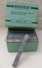 "Bostitch SB 5019- 3/8"" Chisel Point Staples 1 box  NOS Vintage"