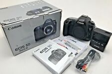 Canon EOS 5D Mark III 22.3MP Digital SLR Camera and Charger -Black