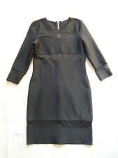 Supertrash NEW Dailona black bodycon cutout dress Mesh panels UK 8/10 Cost £130