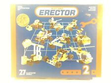 Meccano Erector Metal Construcción Set 2 gm709
