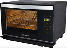 Emerson Steam Oven With Convection Technology 0.9 cu. ft. Stainless Steel Black