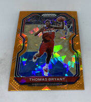 2020-21 Panini NBA Prizm Thomas Bryant Orange Cracked Ice SP #76