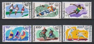 Togo - 1976 ,Juegos Olímpicos, Montreal Juego - Cto - Sg 1144/49 (E)