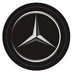 Leather Key Fob Mercedes