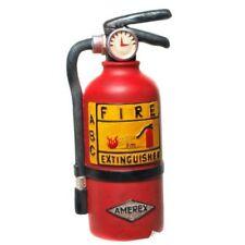 Spardose SPARKASSE Polyresin Feuerlöscher rot 20x9,5cm Geschenk Feuerwehrmann
