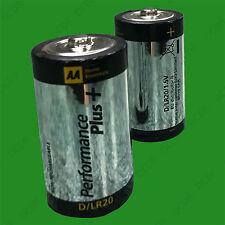 6x RESISTENTE 1.5vV D R20 Batería Baterías, para linternas, de juguete, RADIO