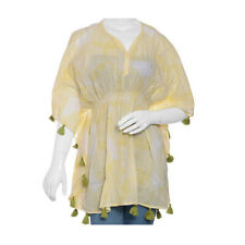 Marie 长衫黄色手屏幕打印均码适合大部分儿童棉服