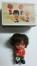 Mini Bambola scatola di fiammiferi cm.7 Vintage