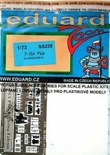 Eduard 1/72 SS235 Zoom Etch per l'Hasegawa F-16A PLUS FIGHTING FALCON KIT