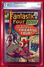 FANTASTIC FOUR #36 (Marvel 1965) PGX 7.0 VF- Very Fine- FIRST MEDUSA!!! +CGC!!!