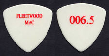 Fleetwood Mac John McVie White/Red 006.5 Bass Guitar Pick - 2004 Tour