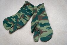 More details for russian army three finger mittens, wool, new, flora camo