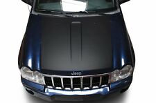 Custom Vinyl Decal Solid Hood Wrap Kit for Jeep Grand Cherokee 05-10 Matte Black