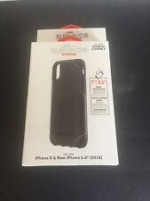 New Griffin Survivor Case Apple iPhone X XS with Belt Clip Black
