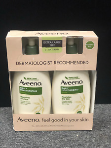 Brand new Aveeno Active Naturals Daily Moisturizing Lotion 20 FL OZ Each 2 Pack