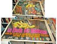 Die Küste Der Barbaren Manifesto 4F Original 1964 Wallace Todd Robertson