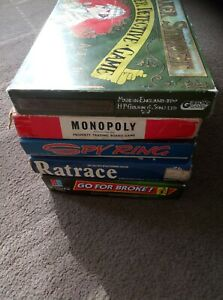 JOB LOT / COLLECTION OF VINTAGE BOARD GAMES - spares
