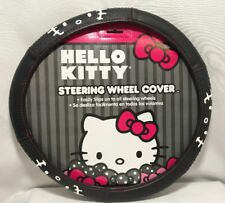 "HELLO KITTY Steering Wheel Cover for 14.5"" - 15.5"" Steering Wheels NEW"