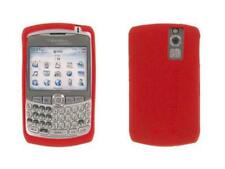 RED SILICONE CASE SKIN COVER for Blackberry 8300 8310 8320 8330 tm094