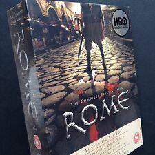 ROME 6xDVD boxset epic historical TV series 2006 James Purefoy Julius Caesar HBO
