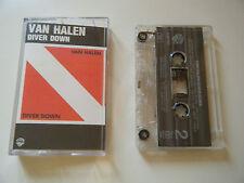 VAN HALEN DIVER DOWN CASSETTE TAPE WARNER BROS (1982)