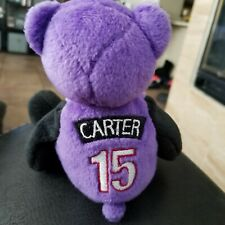 "Vintage Toronto Raptors Vince Carter 7"" Plush Bear 1999 Rare"
