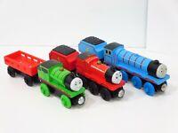 Thomas & Friends Wooden Train Lot Gordon James Percy Railway 2000 2003