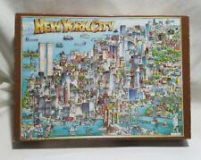 Vintage New York City Puzzle 1988 Don Scott Buffalo Games