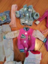 Vintage 80's Barbie/Ken doll and clothes