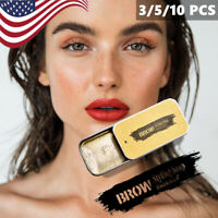 US❀ 3D Feathery Brows Makeup Gel Waterproof Soap Long Lasting Kit Eyebrow ❀US