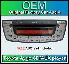 Toyota Aygo CD Player, Toyota CD/AUX car stereo