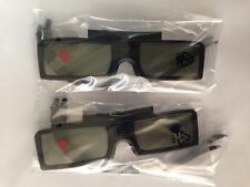 ORIGINAL PHILIPS 3D ACTIVE GLASSES PTA529 x 2 pcs for 99% PHILIPS 3D Active TV
