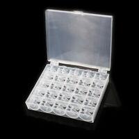 25x Nähmaschinenspulen Spulenkörper für Singer Nähmaschine Spule Box Nähkästen