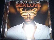 ENRIQUE IGLESIAS Sex & Love (ft Pitbull & Kylie Minogue)(Australia) CD - New